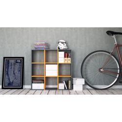 Photo of Regalsystem Anthrazit – Flexibles Regalsystem: Hochwertige Qualität, einzigartiges Design – 118 x 11