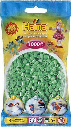 Hama Beads Light Green (1000 Midi Beads)