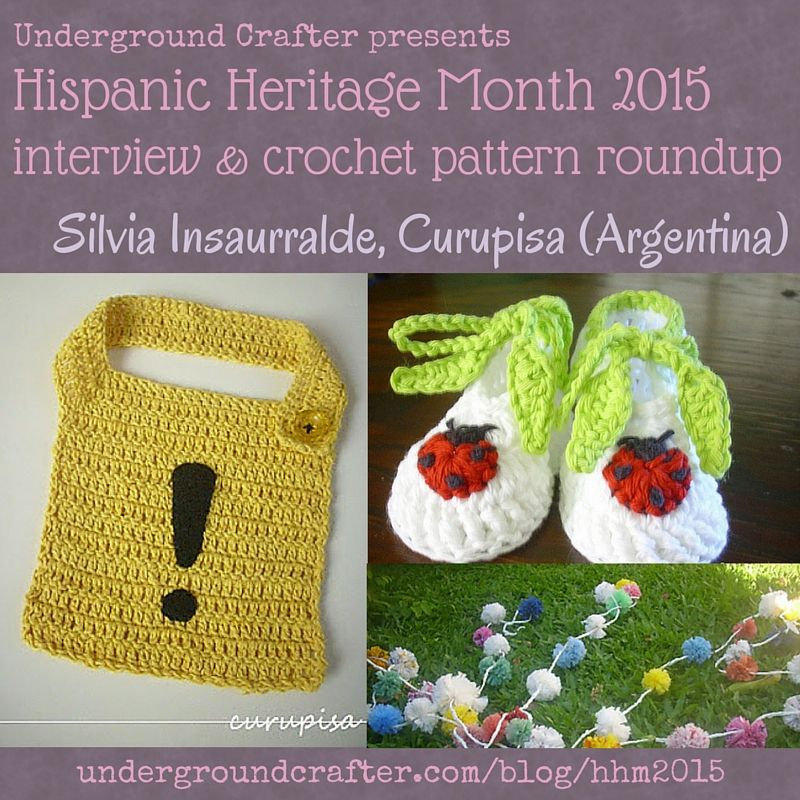 Interview with crochet designer, Silvia Insaurralde from Curupisa ...