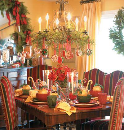 Mesa navide a poner la mesa pinterest mesas - Mesa navidena ...