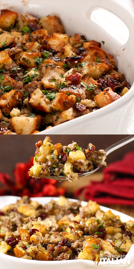 Photo of Sausage, Cranberry and Apple Stuffing