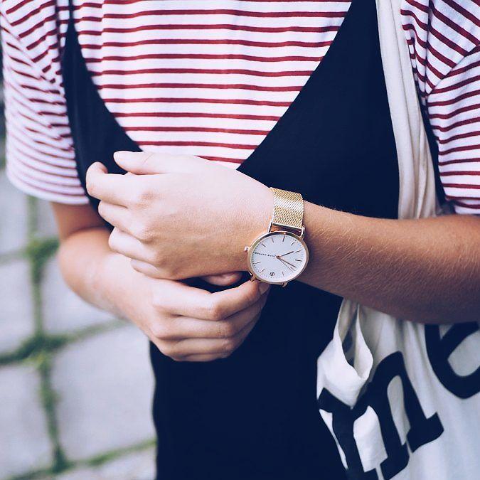 Fave watch at the moment  Blogissa tämä kello stailattuna poikaystävän asuun kuin myös mun  #fashionstatement #moreontheblog #trendhim #ad #whatiwore