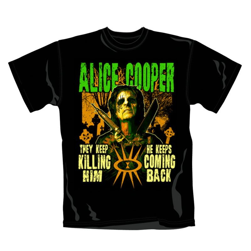 Alice cooper graveyard tshirt cool shirts shirts t shirt