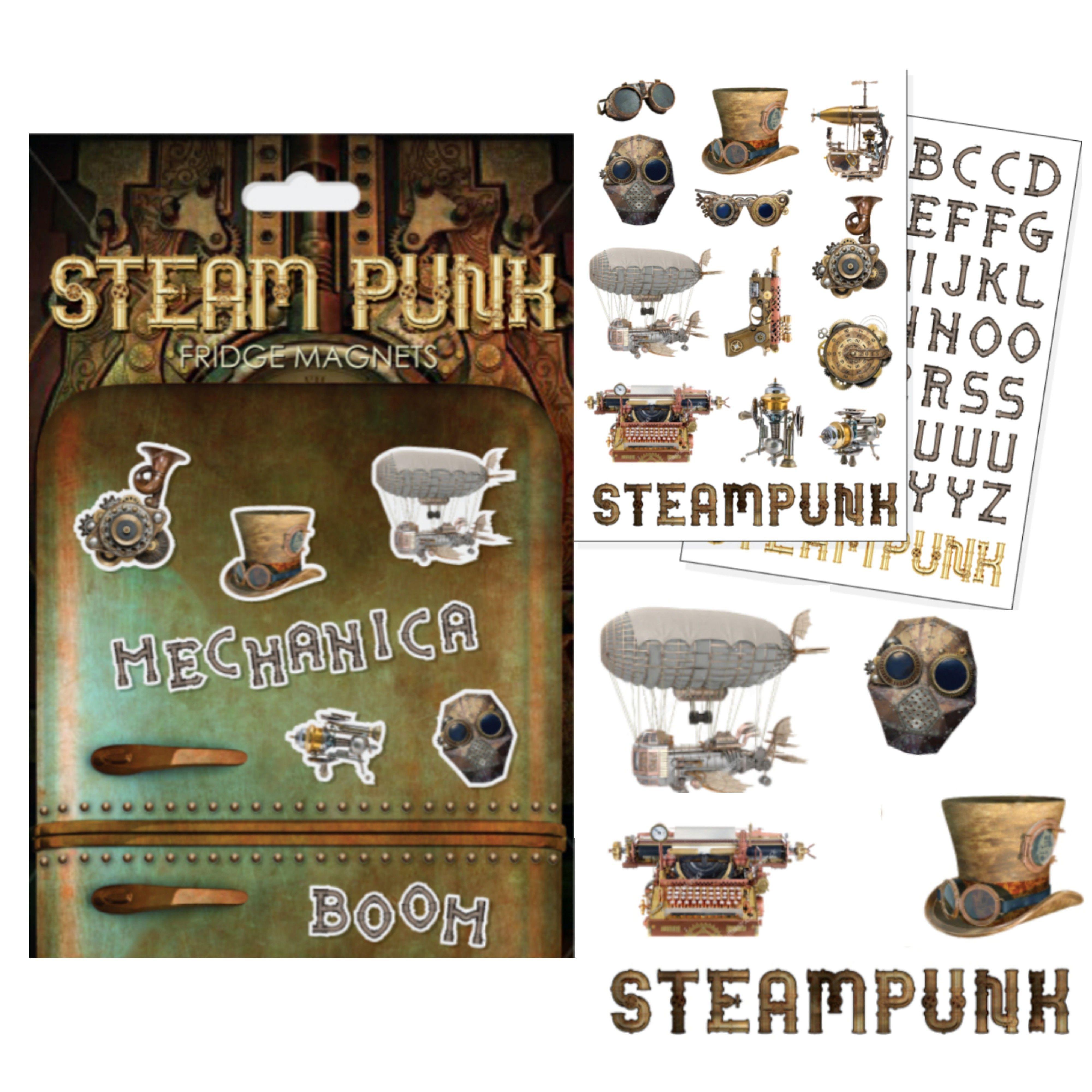 Steam Punk Fridge Steampunk, Punk