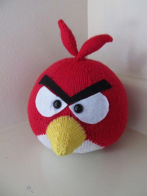 Red Bird Plush Toy Pattern By Knitterbees Crochet Pinterest