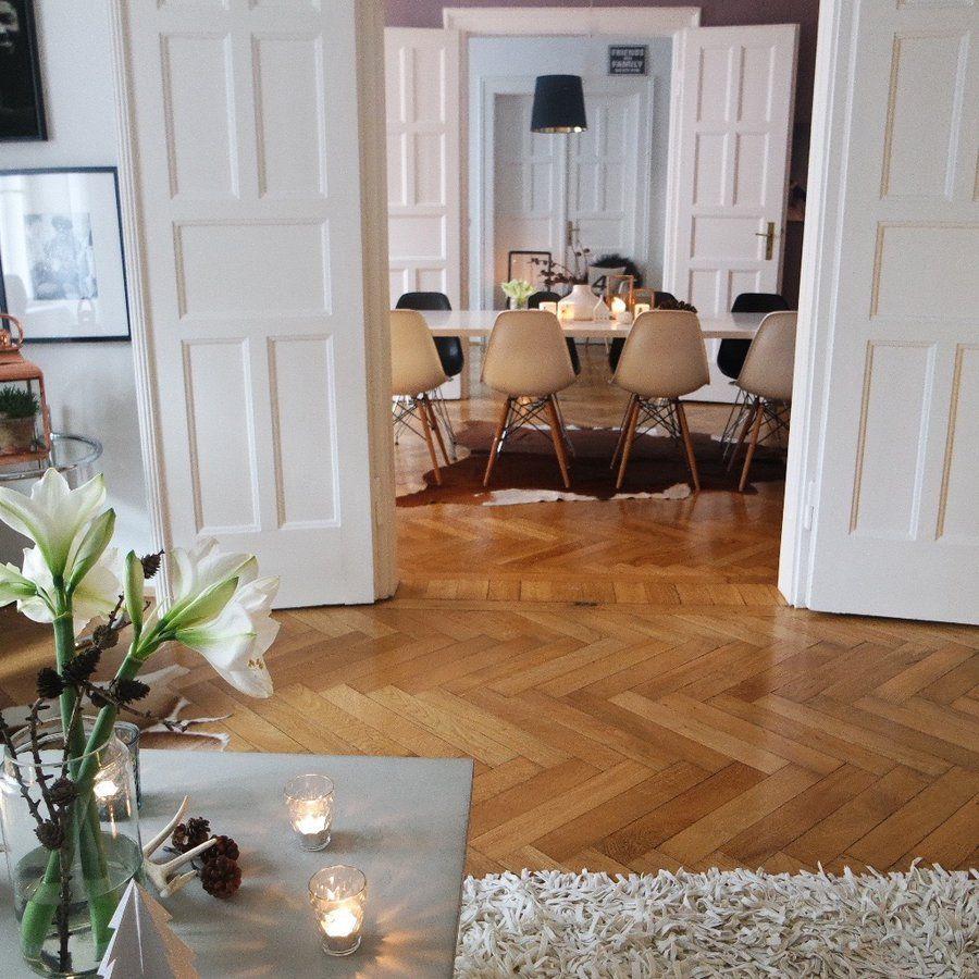 ich liebe das spiel mit wandfarben und tapeten zu. Black Bedroom Furniture Sets. Home Design Ideas