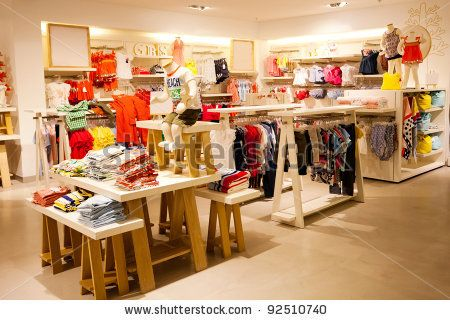 interior view of children's clothing store by michaeljung, via ...