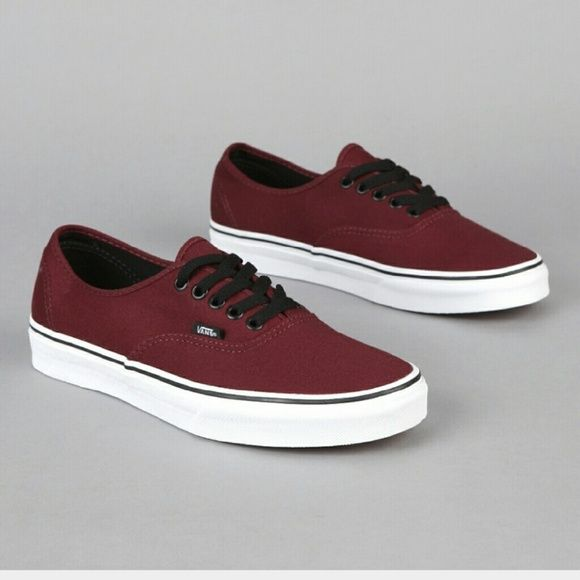 a1d09c43636 Vans Port Royale maroon burgundy shoes I realized they re too small for me  but I kept wearing them because I loved them  ( They re the same ones EXO  Lay ...