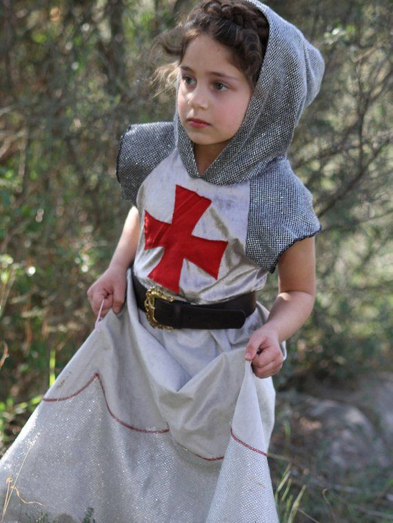 Joan Of Arc Costume Knight Costume For Girls Medieval Princess