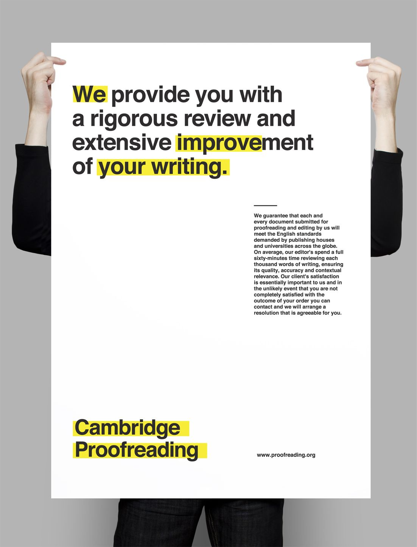 Proofreading services cambridge
