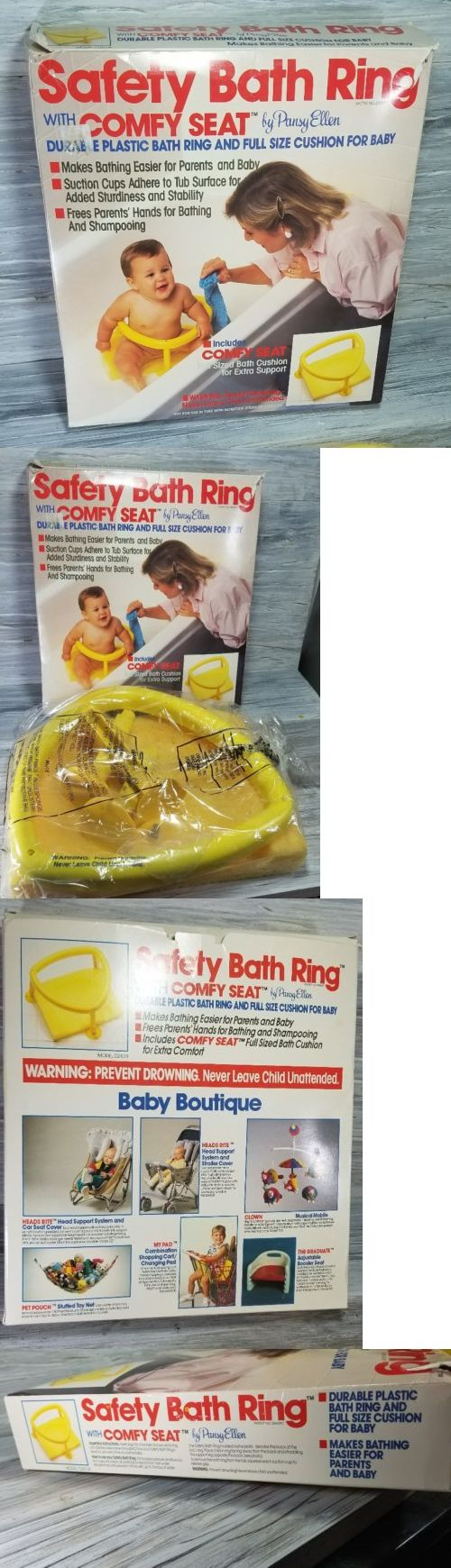 NEW VINTAGE Safety Bath Ring Baby Infant Bath Ring Seat Chair ...