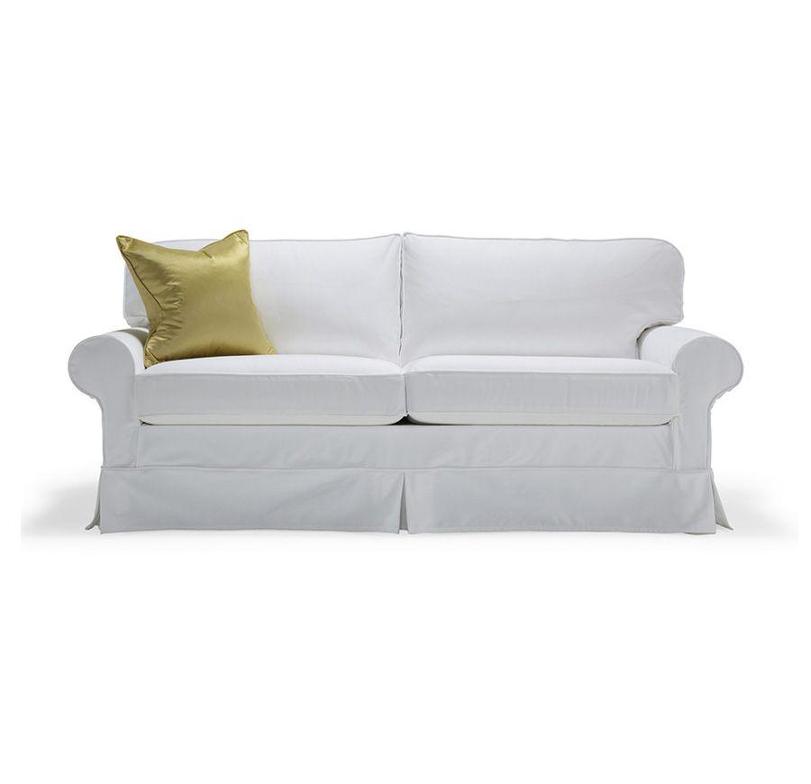 Alexa 83 Sofa Slipcovered Mitchell Gold Bob Williams