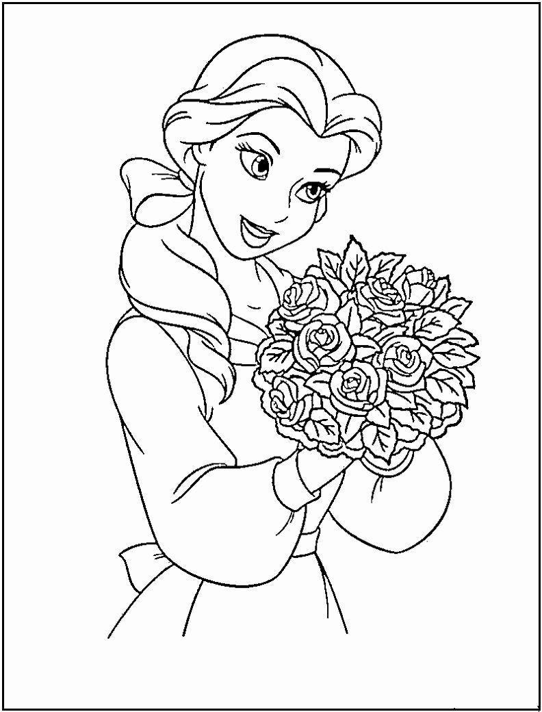 Disney Princess Coloring Pages As Kids In 2020 Disney Princess Coloring Pages Free Disney Coloring Pages Princess Coloring Pages