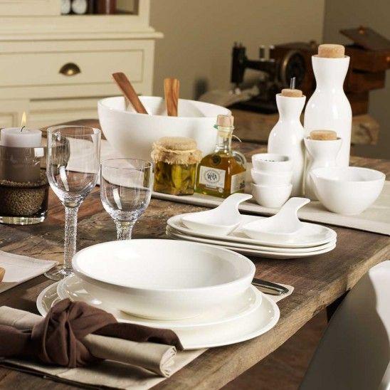 Artesano Dinnerware By Villeroy Boch Table Settings Everyday Kitchenware Design Villeroy Boch
