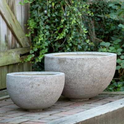 Fiberstone Basin in Gardening PLANTERS Outdoor Planters All-Weather at Terrain, large garden planter