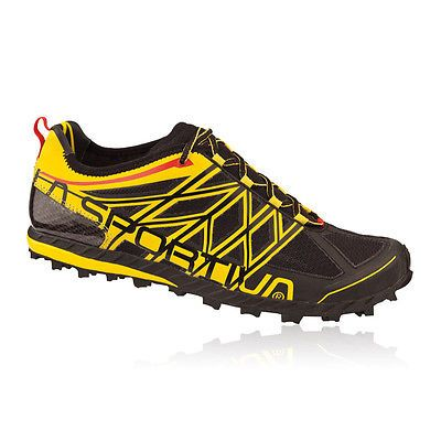 La #sportiva mens womens anakonda #black yellow trail running trainers  #pumps sho,