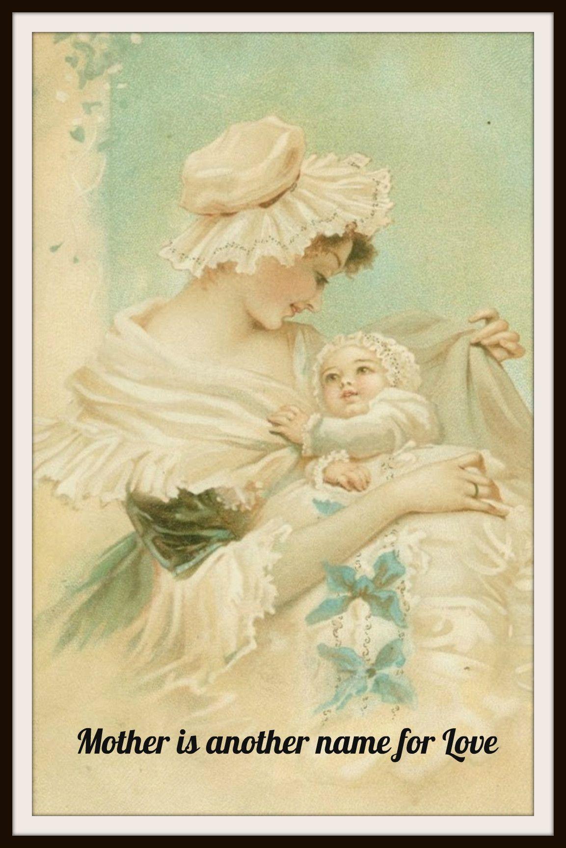 Vintage Mother\'s Day Art Print \