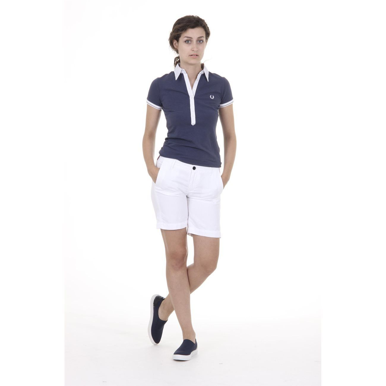 Fred Perry Womens Shorts 31502641 3400