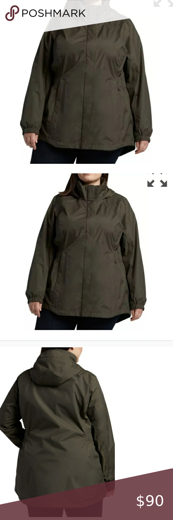 The North Face Plus Size Jacket Nwt Size 3x Color New Taupe Green Khaki Most Accurately Show White North Face Jacket Clothes Design Pink North Face Jacket [ 1740 x 580 Pixel ]