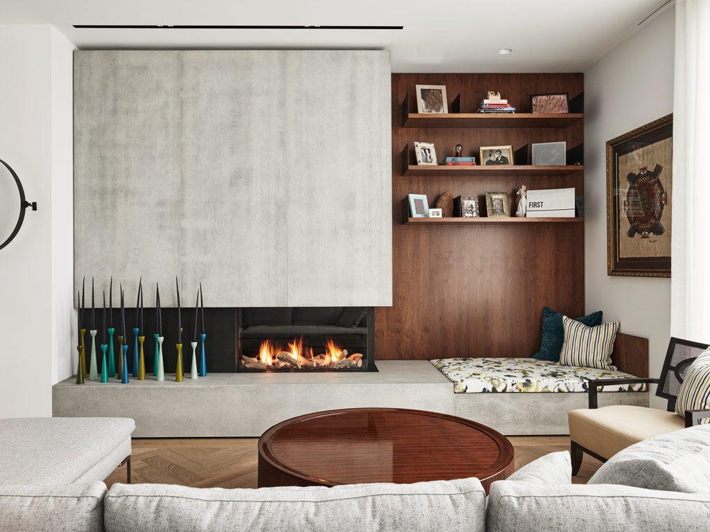 Concrete Fireplace Walls Anthony Concrete Design In 2020 Fireplace Wall Concrete Design Concrete Fireplace