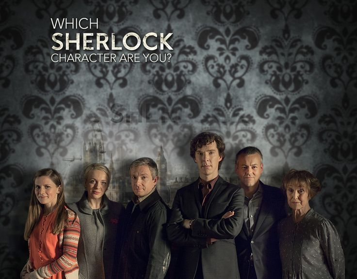 Which Sherlock Character Are You?  Take the quiz.