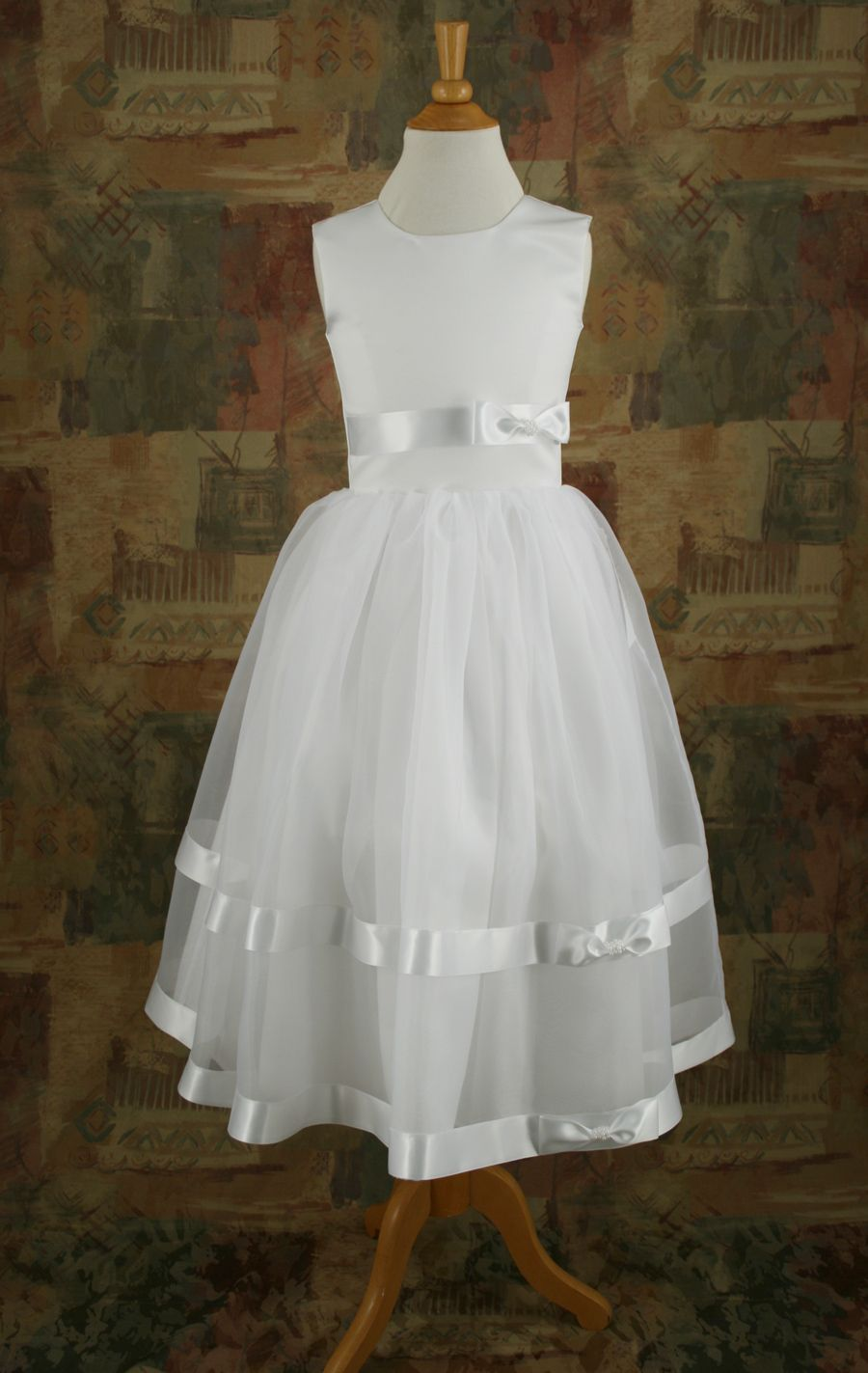 Canadian Profiles 2201 Flower Girl Dress. Delicate with