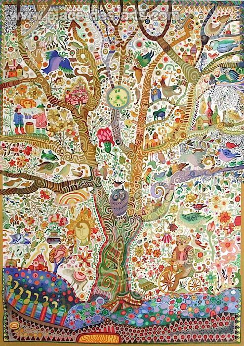 Juan Romero #tree #art