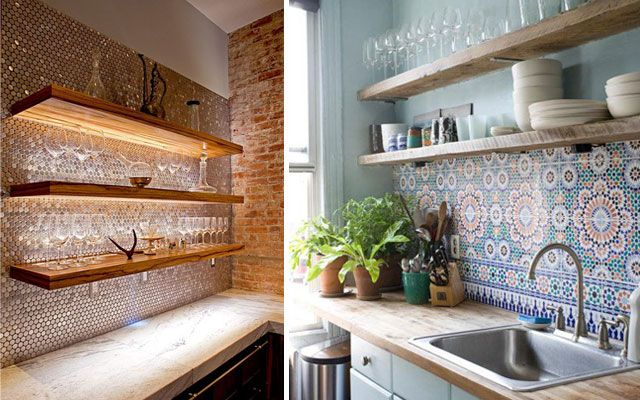 Ideas para decorar paredes de cocinas- Decofilia | Ideas Creativas ...