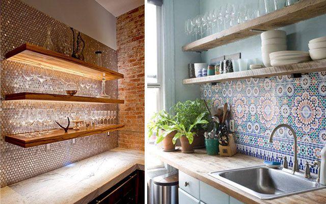 Ideas para decorar paredes de cocinas decofilia ideas - Utensilios para pintar paredes ...