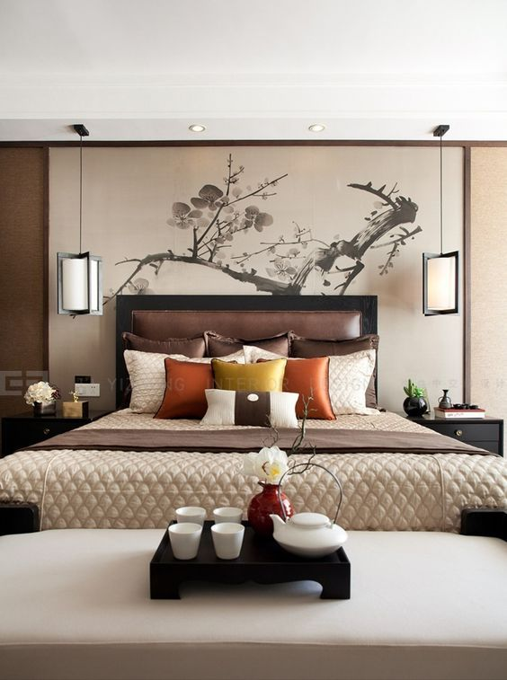 7 Bedside Tables Design Ideas To Replace Your Nightstand Asian Bedroom Decor Inspired Style Bedrooms