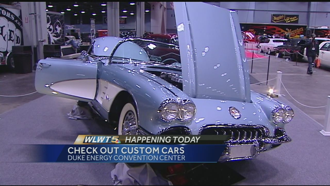 The Cavalcade Of Customs Is Back For Its Th Annual Car Show And - Car show duke energy center