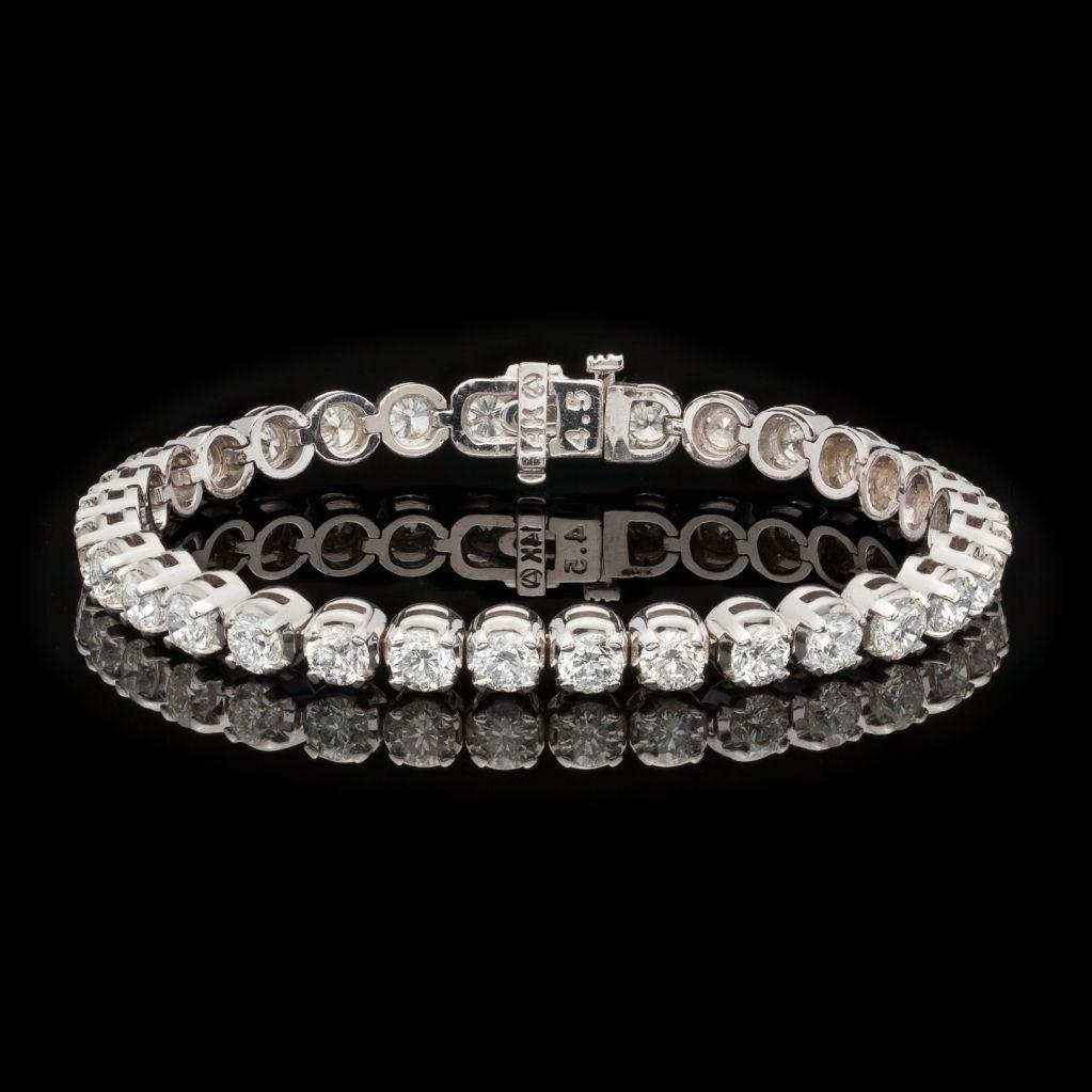 Diamond Tennis Bracelet   Vintage tennis, Jewelry ...