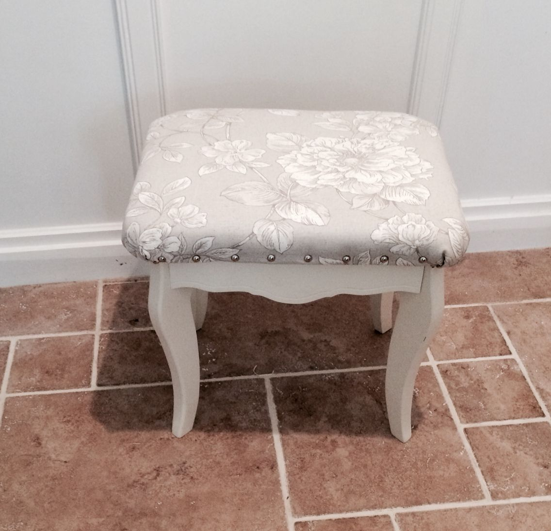 Dressing Table Stool By Little France Boutique Vintage