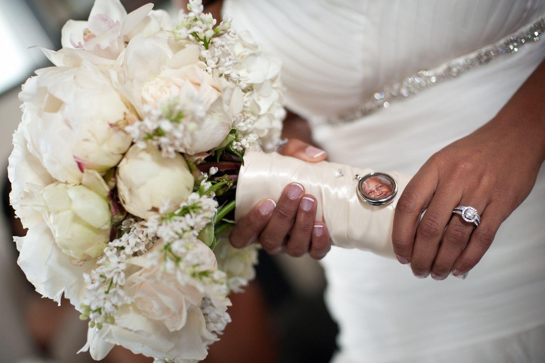 """White """"Honor"""" Bridal Bouquet"""