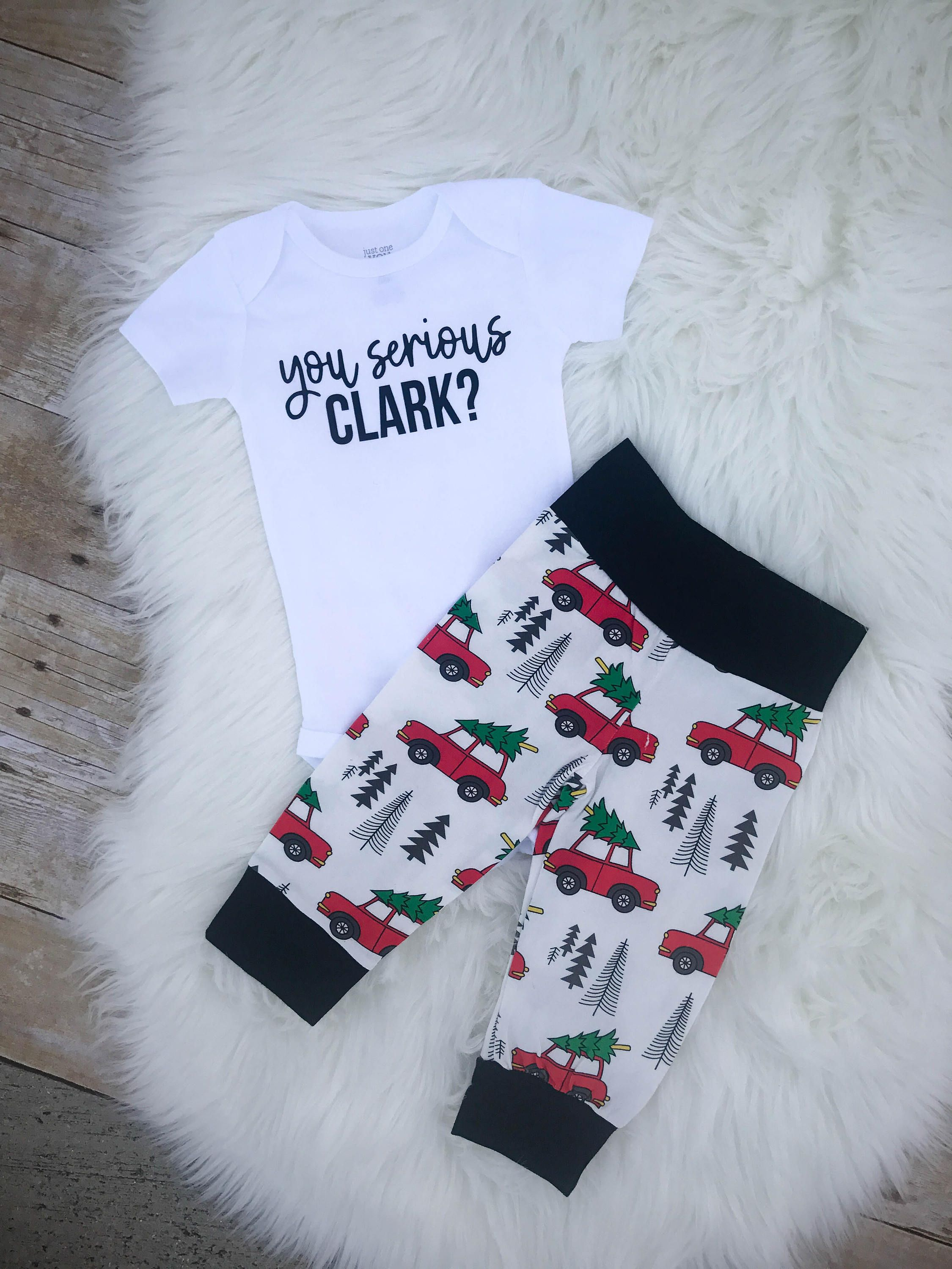 594adf699 Christmas vacation baby outfit, you serious clark, Griswold baby set, Christmas  vacation baby, hipster christmas, christmas outfit by CoastalPeaches on Etsy