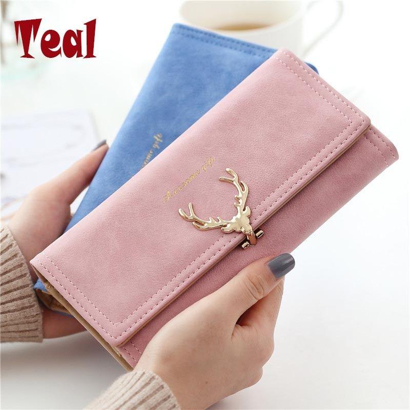 b6372b415dd9 2017 Wallet Women purse High Capacity Fashion Long Wallet Female ...