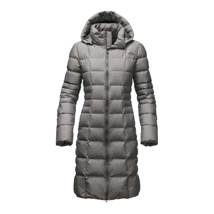 Black north face women's trillium parka down jacket