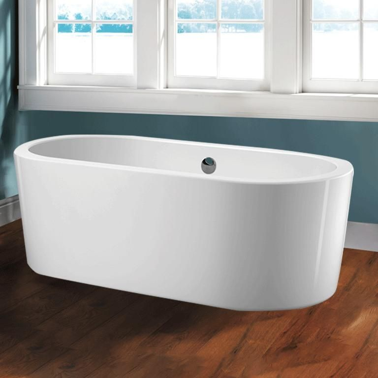 70 Lansdowne Acrylic Oval Freestanding Tub With Images