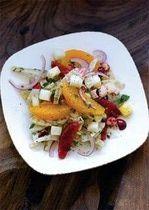 Fennel Orange Cranberry Salad