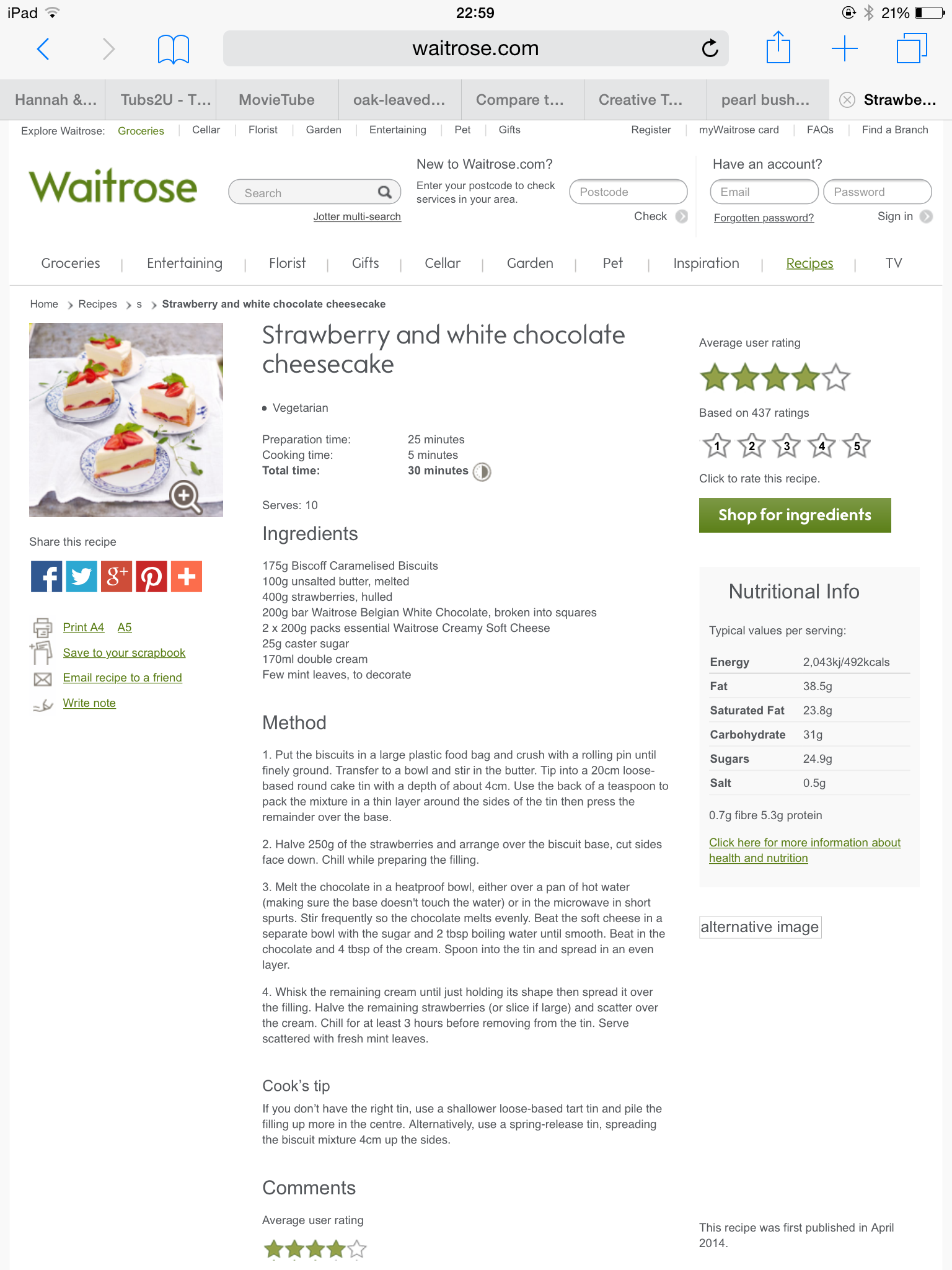Idea by Cate Harvey on Recipes Tv food, Home tv, Waitrose