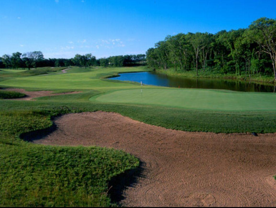Pin Van Kristin Monger Manning Op Kansas Golf Courses Golfbanen