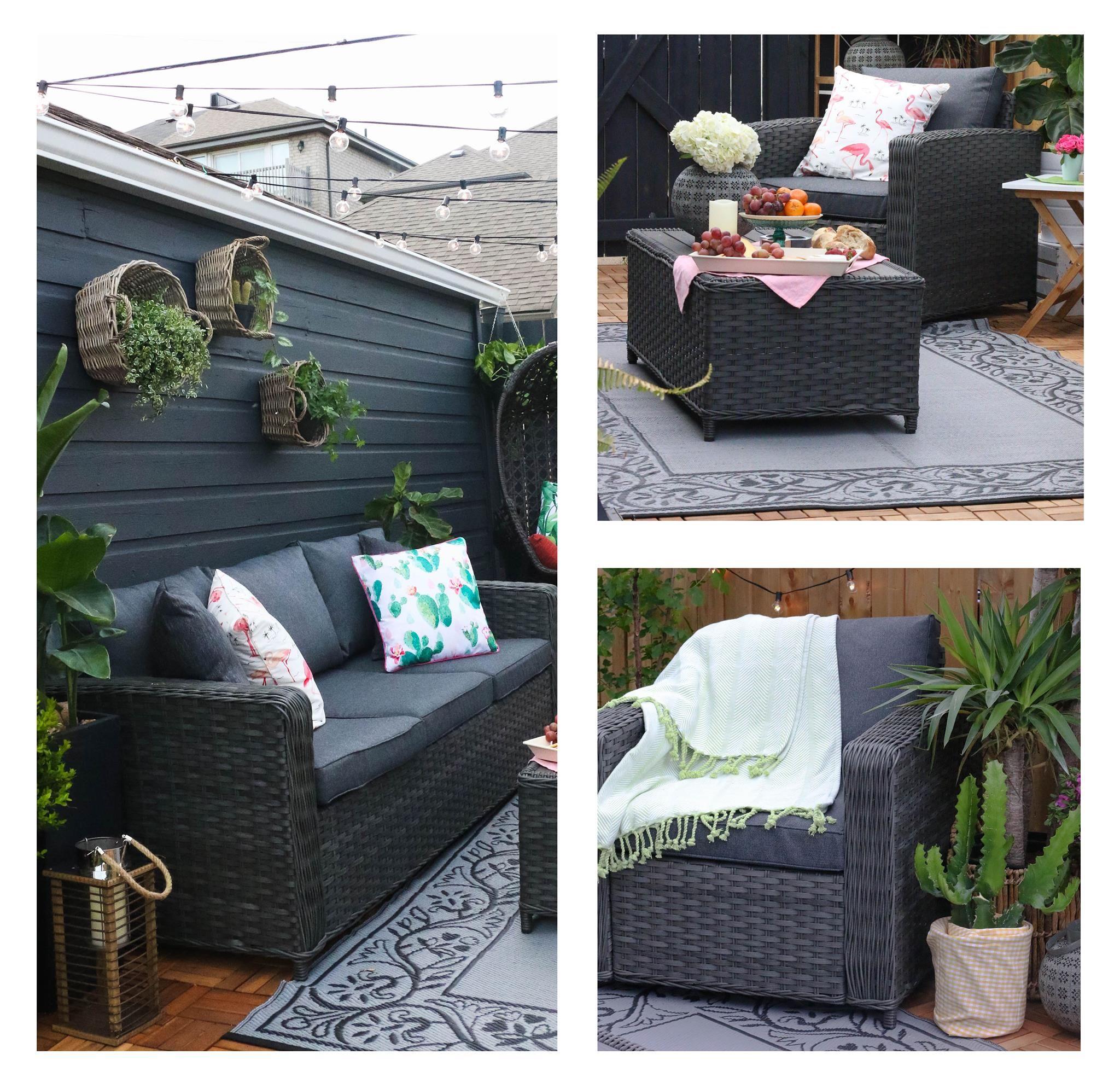 Ramsan Conversation Set Conversation Set Patio Cozy Backyard Outdoor Furniture Sets