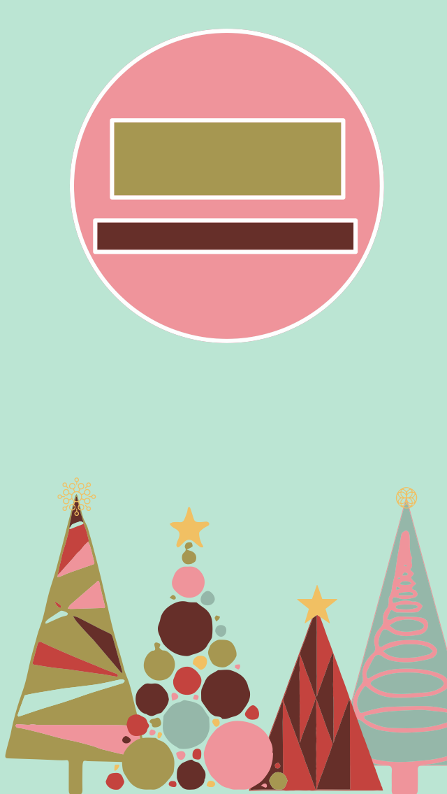 Trees Christmas Wallpaper Lock Screen Time Iphone Christmas Wallpaper Wallpaper Original Wallpaper