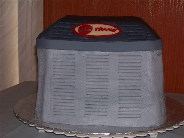 Trane Air Conditioner Cake Graduation Trane Graduation Cakes