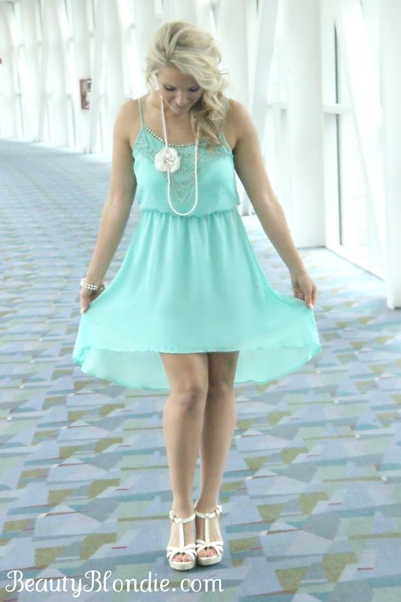 Mint Mullet Dress, Yes Please {My Style} | Outfits | Pinterest ...