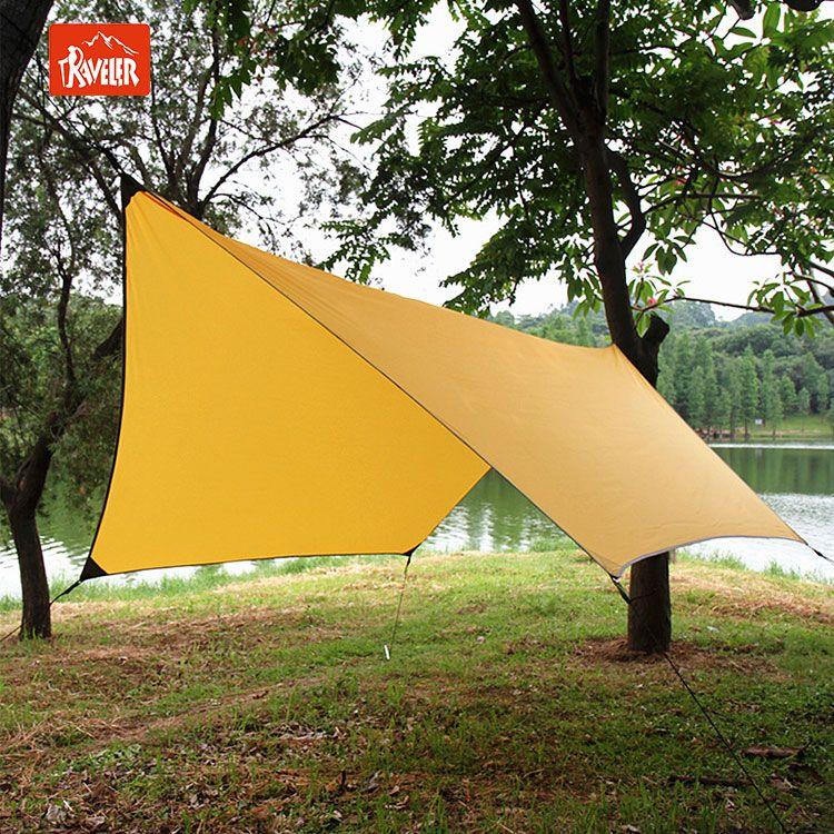 Portable Lightweight Waterproof Rain Tarp Rain Fly Tent Tarp Shelter Sunshade & Portable Lightweight Waterproof Rain Tarp Rain Fly Tent Tarp ...