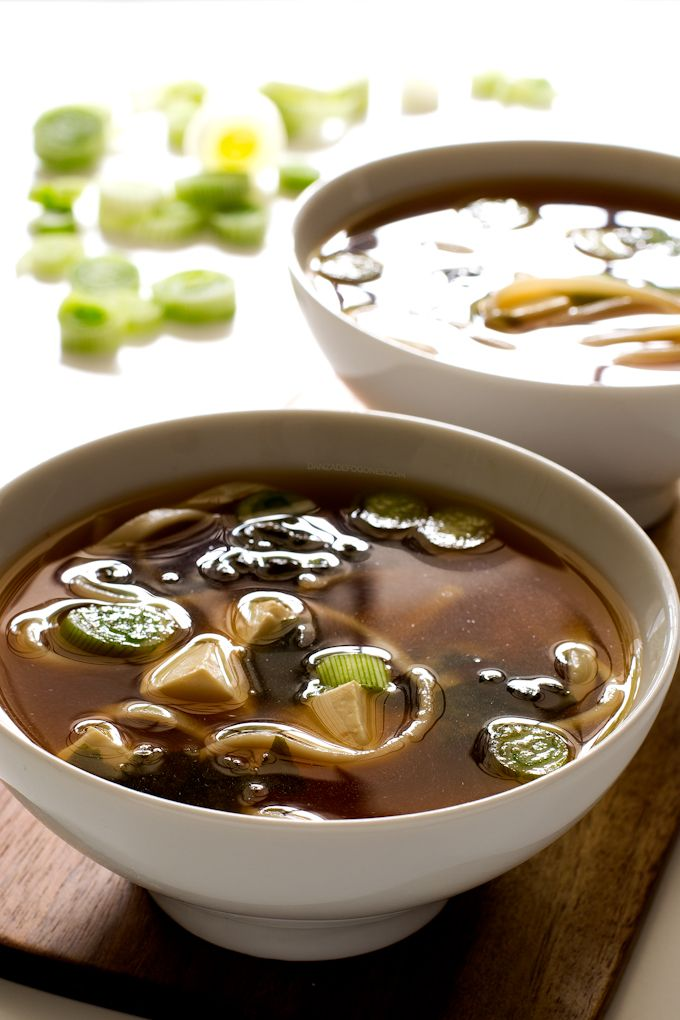Sopa Miso Vegana