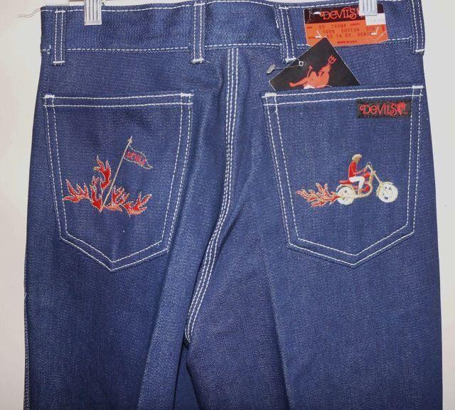 1980 S Devil Jeans Walking Down Memory Lane Fashion