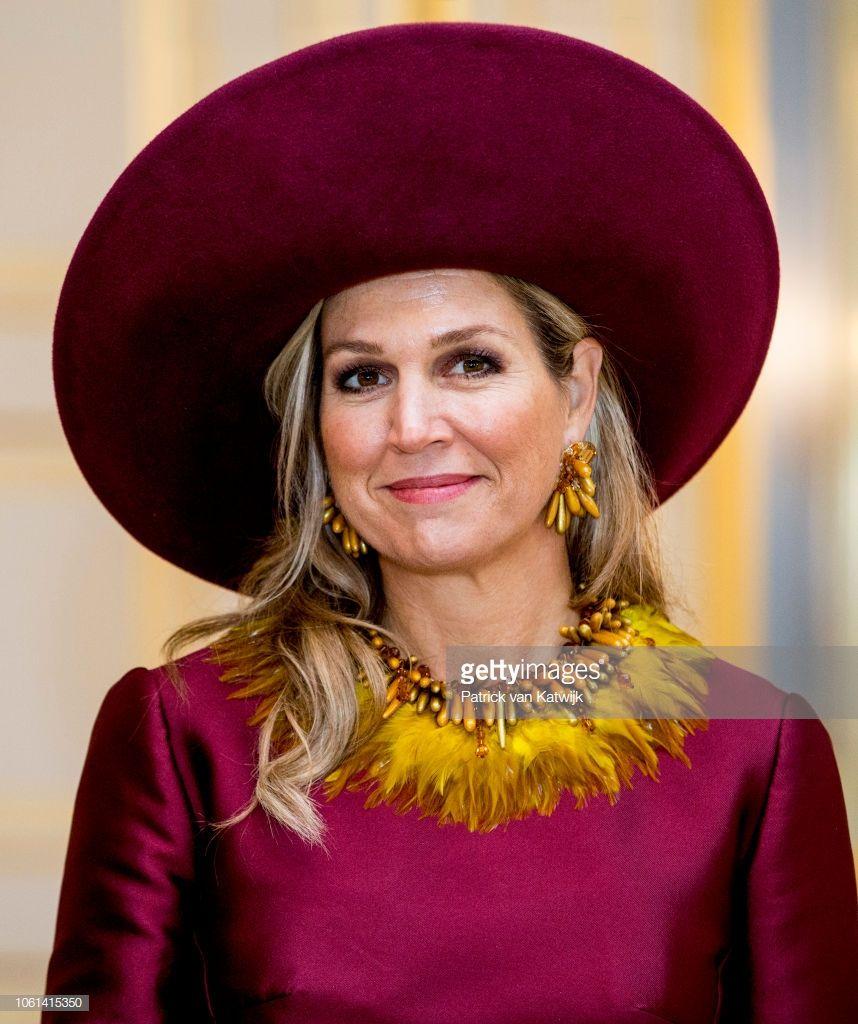 Queen Maxima Of The Netherlands Welcome Alexander Van Der Bellen