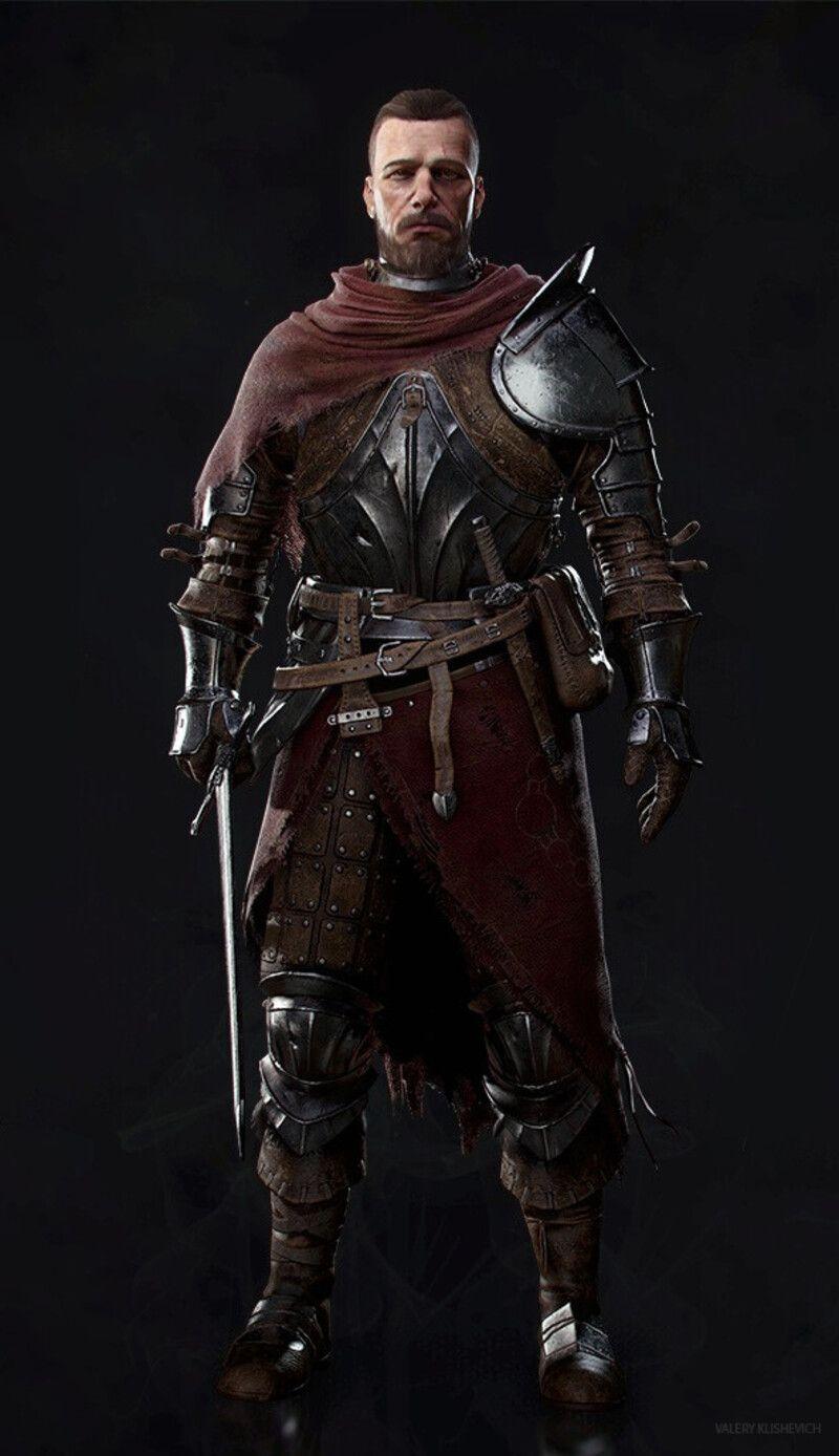 Artstation Alva The Wayfarer Valery Klishevich In 2020 Medieval Fantasy Characters Fantasy Character Design Dark Souls